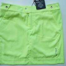 Nwt Ralph Lauren Rlx Golf Lemon Quartz Medal Play Skort  Size 6 Salesman Sample Photo