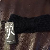 Nwt Rampage Black Winter Headband Photo