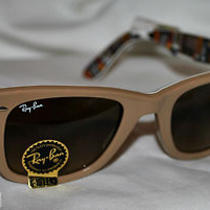 Nwt Ray-Ban Wayfarer Guitar Special Series 9  New in Case Rb2140 Photo