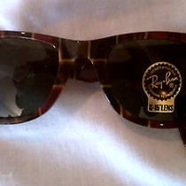 Nwt Ray-Ban Wayfarer Plaid Special Series 7 New in Case Rb2140 Havana 160 Photo