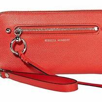 Nwt Rebecca Minkoff Gabby Tomato Red Phone Clutch Wallet 158 Photo