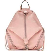 Nwt Rebecca Minkoff Julian Backpack Pastel Pink Primrose Leather Silver Hdwre Photo
