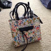 Nwt Rebecca Minkoff Mini Mab Tote Crossbody Bag in Floral Ink Multi Color Photo