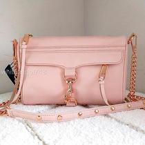 Nwt Rebecca Minkoff Mini Mac Convertible Crossbody Clutch Quartz Pink Rose Gold Photo