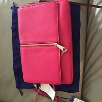 Nwt Rebecca Minkoff Nina Zip Leather Convertible Clutch Photo