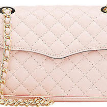Nwt Rebecca Minkoff Quartz Quilted Leather Mini Affair Gold Crossbody Photo