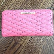 Nwt Rebecca Minkoff Sophie Quilted Snap Wallet- Quartz 95 Photo