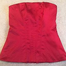 Nwt Red Corset Top (Size s) - the Limited Photo