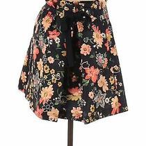 Nwt Red Valentino Women Black Casual Skirt 38 Italian Photo