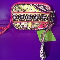 Nwt Retired Vera Bradley Very Berry Paisley Pink Tech Case Iphone 4 5 Photo