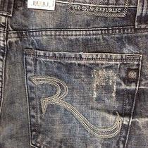 Nwt Rock and Republic Neil Jeans in Bolt Size 34 Photo