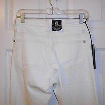 Nwt Rock & Republic Berlin Skinny Cream Colored Msrp 88 Sz 6m Photo