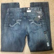Nwt Rock & Republic Bolt Straight Leg Neil Jeans 34 X 34 Photo