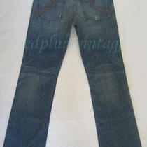 Nwt Rock & Republic Henlee Blue Bootcut Distress Jean Stud/studded Bolts 32 X 34 Photo