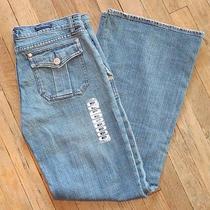 Nwt Rock & Republic Siouxsie Trouser Fit Flap Pocket Jeans Size 31 Light Wash Photo