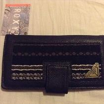Nwt Roxy Wallet Black...cute Photo