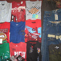 Nwt's Boys Size 16 Name Brand Clothing Lot d'coded u.s.polo American Hawk Dickie Photo