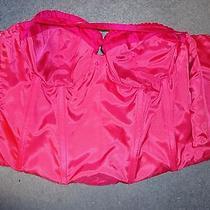 Nwt Saks Fifth Avenue Abs Evening Essentials Allen Schwartz Pink Corset Size 12 Photo