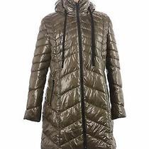 Nwt Sam Edelman Women Green Snow Jacket Xl Photo