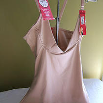 Nwt Sara Blakely Spanx Slimplicity Nude Open Bust Boost Camisole Top 1814 M 68 Photo