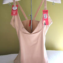 Nwt Sara Blakely Spanx Slimplicity Nude Open Bust Boost Camisole Top 1814 L 68 Photo