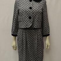 Nwt Sara Campbell Black Dress/jacket 2pc Velvet Trim Set Sz 10 160102a Bjb Photo