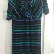Nwt Sara Campbell Striped Faux Wrap Ruffled Bodice Dress Sz Xl Photo