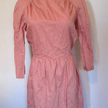 Nwt See by Chloe Dress Pink Open Back Lined Size Us 4 Photo