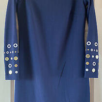 Nwt Sexy Michael Kors Stretchy Form Fitting Embellished Dress. Size Small Photo
