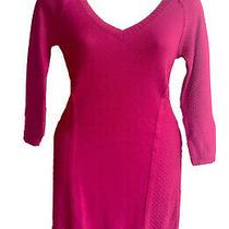 Nwt Sexy Pink Fushia Guess Sweater Dress Dress Size S Sm Small Photo