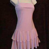 Nwt Sexy Secretary Pink Ruffles Grunge Plaid Mini Sun Dress & Jackie Jacket 5/6 Photo