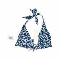 Nwt Shoshanna Women Blue Swimsuit Top L Photo