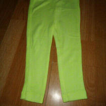 Nwt Size 18-24  Baby Gap Neon Yellow Leggings Photo