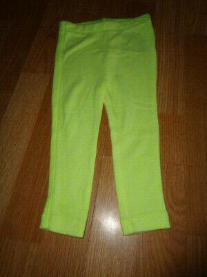 NWT size 18-24  baby gap neon yellow leggings Photo