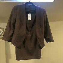 Nwt Size 6 Express Womens Blazer and Skirt Suit Set New With Tags Photo