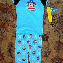 Nwt Size 7 Two Piece Pajama Sets Paul Frank Boys Girls Monkey Cute Photo