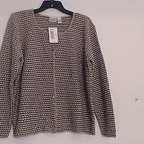 Nwt Size Xl Women's Multicolor Acrylic Cardigan Sweater by Classic Elements Photo