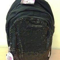 Nwt Skechers Twinkle Toes Sequins Forever Backpack Black Photo