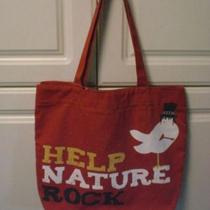 Nwt Slash Bird Guns n' Roses Saul Hudson Help Nature Rock Go Green Canvas Bag Photo