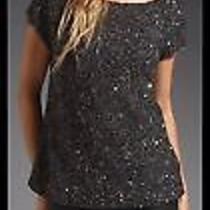 Nwt Small Haute Hippie Junk Sequin Off the Shoulder Blouse Photo