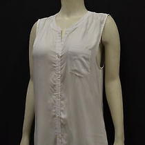 Nwt Soft by Joie Brant Sz M Porcelain Sleeveless  Hi-Low Top/shirt 150622f Photo