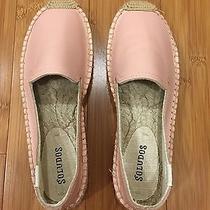 Nwt Soludos Platform Smoking Slipper in Blush Pink Leather Women's Size 6 Photo
