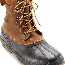 Nwt Sorel Boots Men's Cheyanne Lace Full Grain Waterproof Leather/rubber 13 Photo