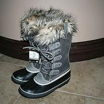 Nwt Sorel Joan of Arctic Winter Boots Size 8.5 Shale  Photo