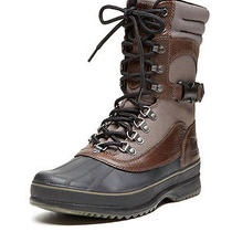 Nwt Sorel Men's Kitchener Conquest Boots - Major/black - Size 11 - Retail 200 Photo