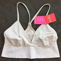 Nwt Spanx Women's Smooth Racerback Bralette Nude Blush Size Mm  Photo