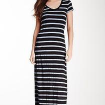 Nwt Splendid Striped v-Neck Maxi Dress--Small Photo