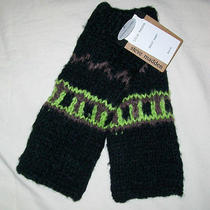 Nwt Steve Madden Black Green Purple Texting Gloves O/s M86007  Photo