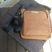 Nwt Steve Madden Cognac Cross Body Pocketbook  Photo