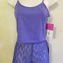 Nwt Steve Madden Sz S Purple Cami Top and Sexy See Through Underwear52 Total Photo